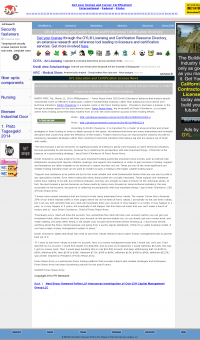 Forex Peace Army -  GYL: Licensing and Certification Resource Directory - Sound Trading Plan
