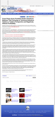Forex Peace Army -  KATV-TV ABC-7 (Little Rock, AR) - Sound Trading Plan