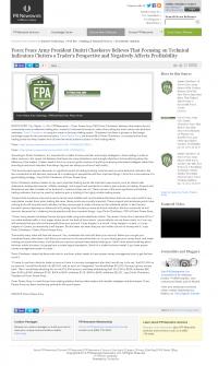 Forex Peace Army -  PR Newswire - Sound Trading Plan