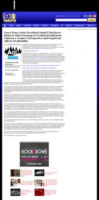 Forex Peace Army -  WAFB CBS-9 (Baton Rouge, LA) - Sound Trading Plan