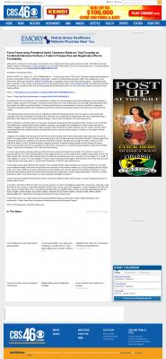 Forex Peace Army -  WGCL-TV CBS-46 (Atlanta, GA) - Sound Trading Plan