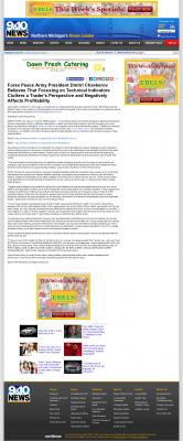Forex Peace Army -  WWTV-TV CBS-9 (Cadillac, MI) - Sound Trading Plan
